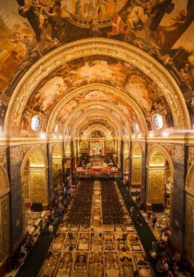 cattedrale di san giovanni a la valletta malta