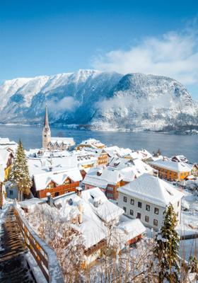 salisburgo sotto la neve