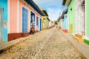 Case colorate di Trinidad