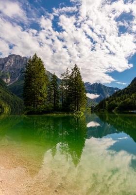 lago del predil friuli