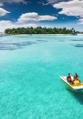 noleggio pedalo alle maldive