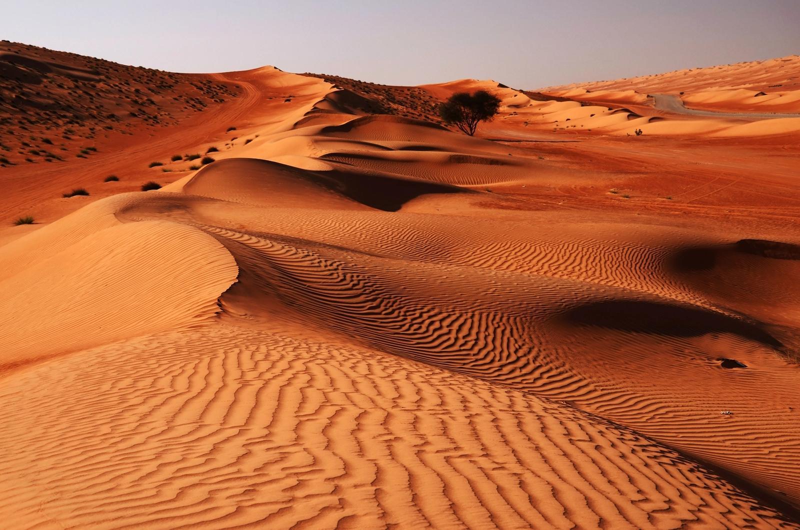 Deserto rosso in Oman