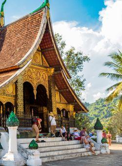 tempio oro laos