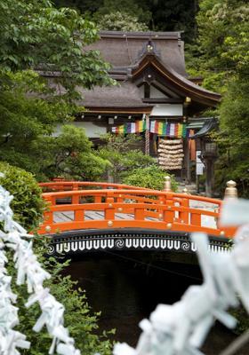 tempio di kyoto in autunno