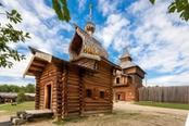 casa in legno tipica della siberia