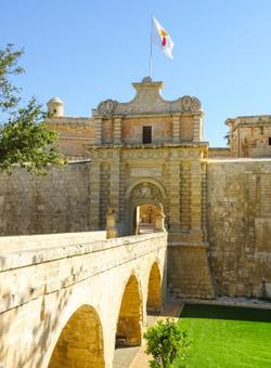 ingresso citta medievale mdina