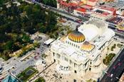 Vista panoramica su Città del Messico