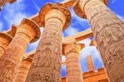 Antico complesso museale egizio