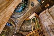 interno moschea il cairo