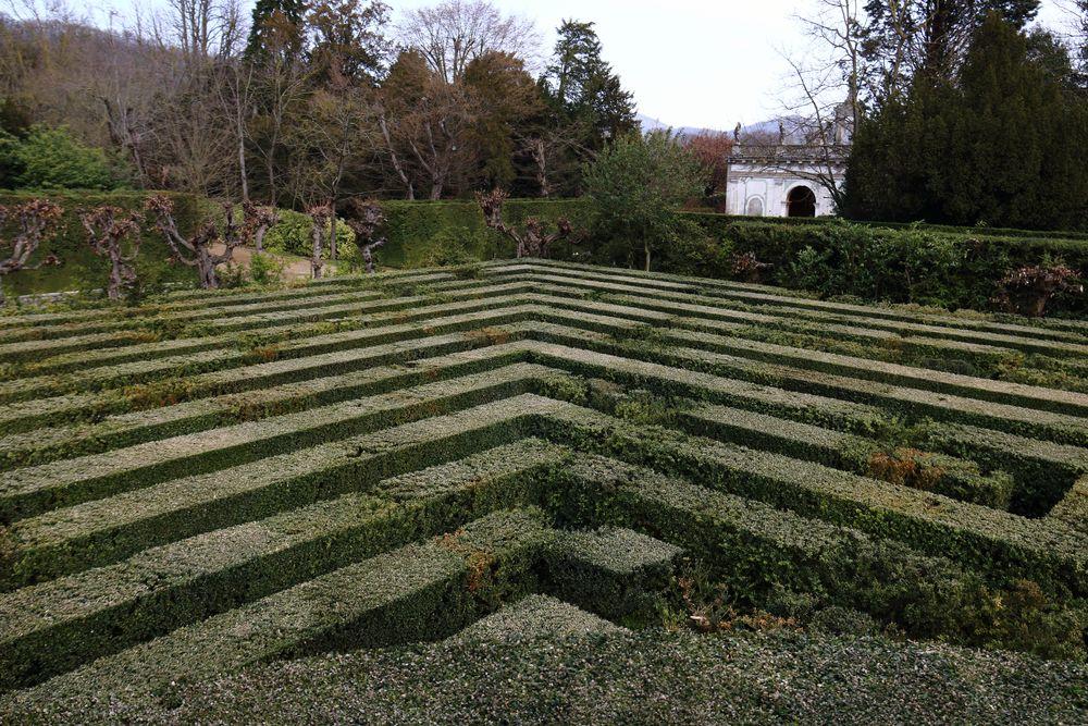 labirinto di villa barbarigo