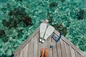 snorkeling in barca in grecia