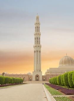 Grande Moschea del Sultano Qaboos in Oman