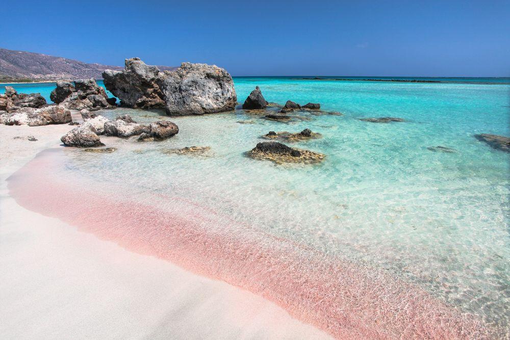 spiaggia rosa creta