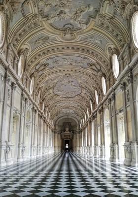 corridoio della reggia di venaria reale