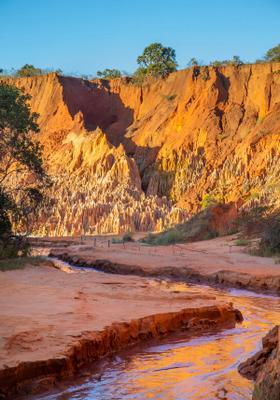 pietre rosse del tsingy rouge canyon