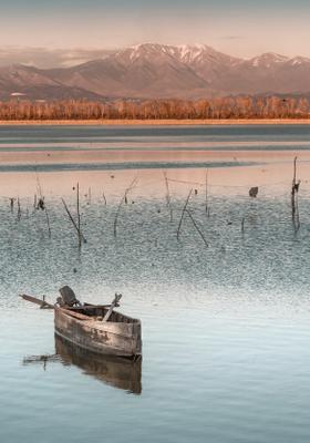 lago di kerkini grecia