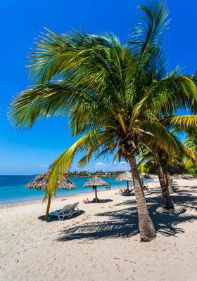 spiaggia playa rancho luna a cuba