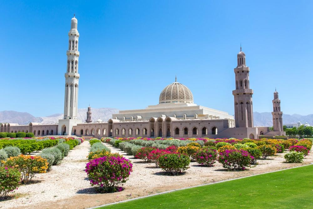 grande moschea del sultano qaboos mascate