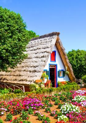 villaggio di santana a madeira