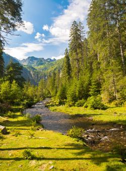 paesaggio montano austria