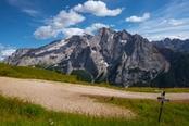 sentiero trekking marmolada