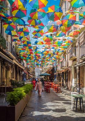 catania ombrellini colorati