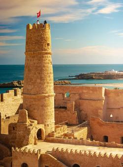 fortezza sul mare a monastir