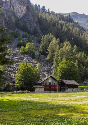 casa in montagna a gressoney saint jean