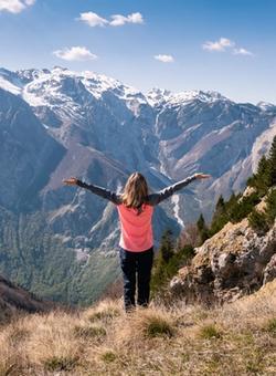 trekking sulle alpi giulie in slovenia