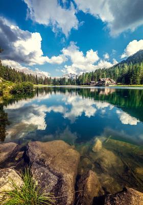 lago di nambino trentino