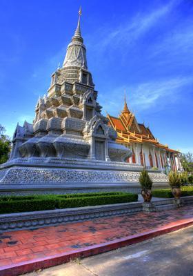 tempio nella capitale phnom penh