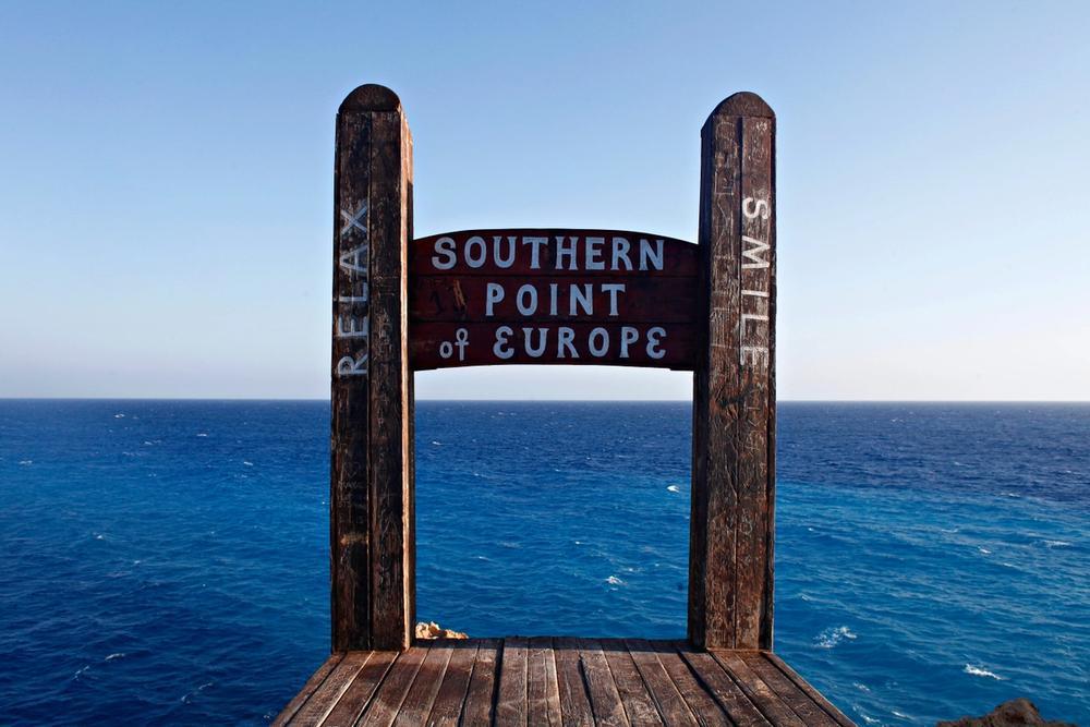 capo tripiti punto piu meridionale d europa in grecia
