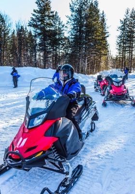 escursione in motoslitta norvegia