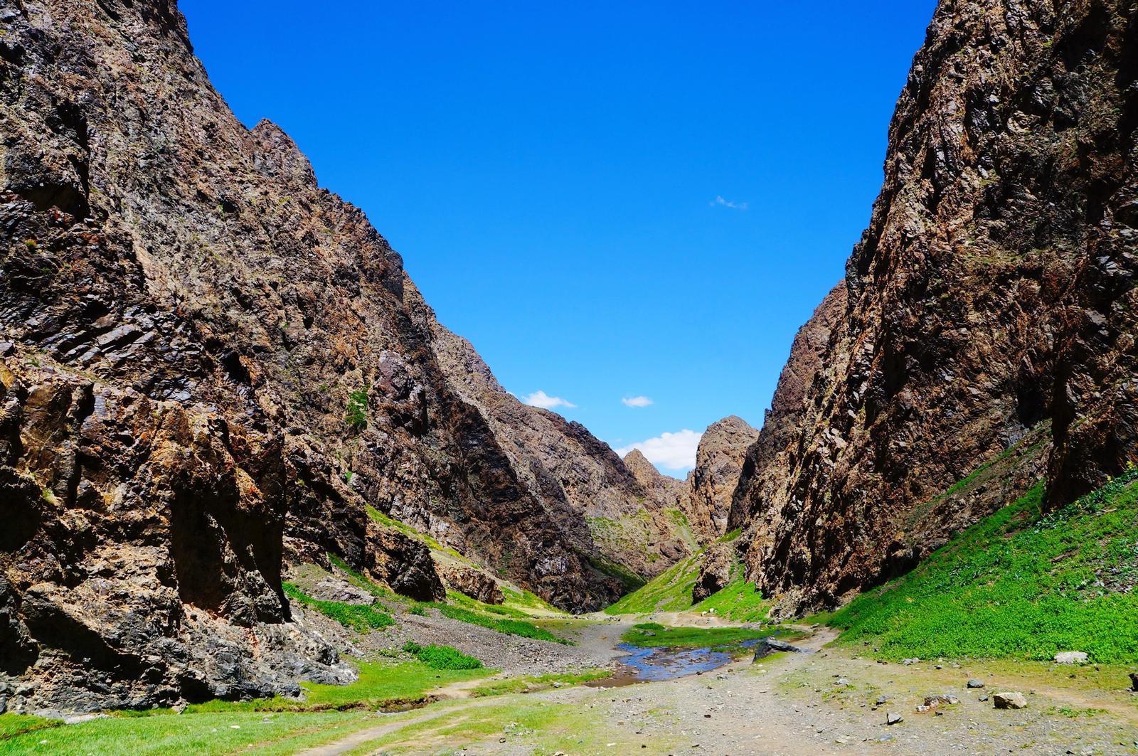 Deserto in Mongolia