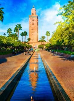 minareto di marrakech