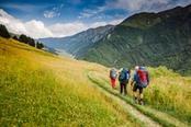 trekking di gruppo in trentino alto adige