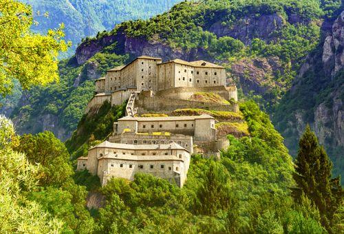I Castelli della Valle d'Aosta cover