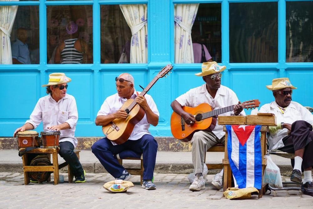 musicisti a cuba avana