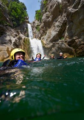 sport canyoning a madeira