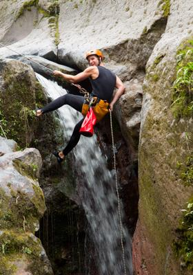 canyoning in calabria