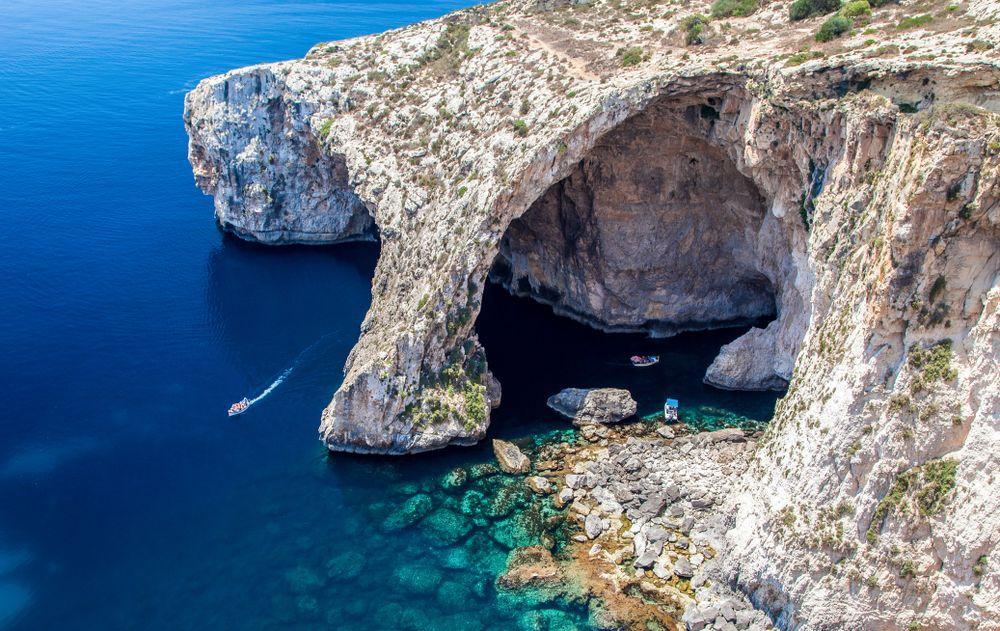 grotta blu malta