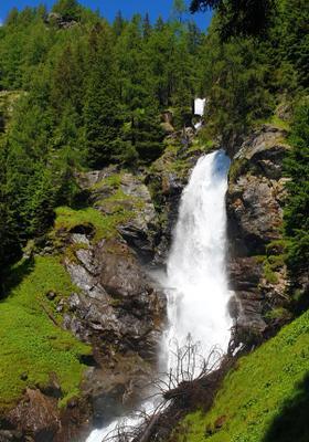 cascate del saent trentino
