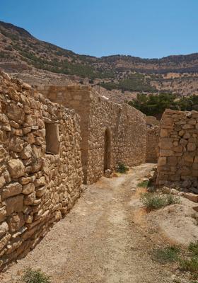 villaggio di dana in giordania