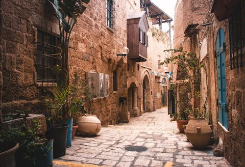 Le bellezze di Israele cover
