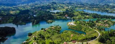 vista panoramica sulla colombia