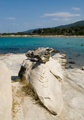 spiaggia di karidi in grecia