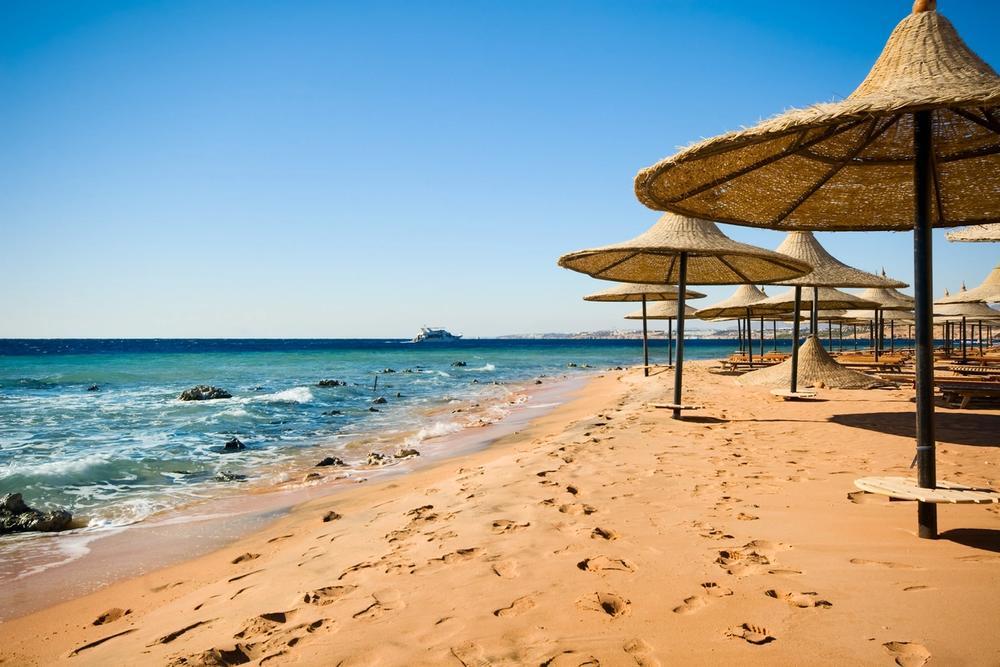 spiaggia di sharm el sheikh egitto