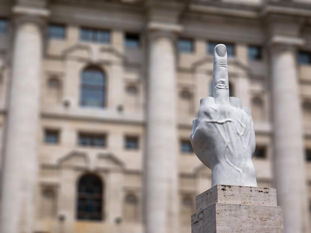 il dito catteland piazza affari