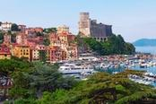 castello di lerici in liguria