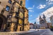 piazza orologio astronomico di praga